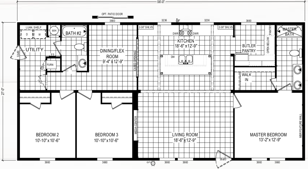 tradition by clayton floor plan